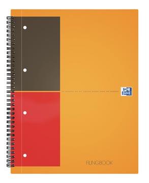 Oxford INTERNATIONAL Filingbook, 200 bladzijden,ft A4+, geruit 5 mm
