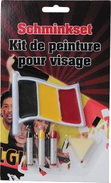 Schminkset in de kleuren van Belgie