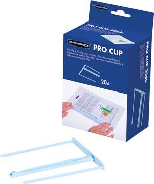 Bankers Box archiefbinder Pro-clip, doos van 20 stuks, licht blauw