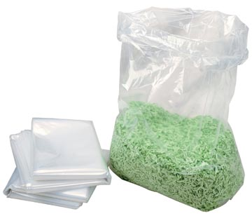 HSM opvangzakken voor papiervernietiger Securio B26, B32, AF500 en 125.2, pak van 100 zakken