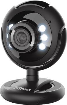 Trust Spotlight Pro webcam, met ingebouwde microfoon en ledlampjes