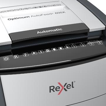 Rexel Optimum Auto+ 600X papiervernietiger