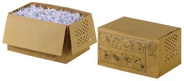 Rexel recycleerbare opvangzakken voor papiervernietiger 26 l, voor Auto+100X, pak van 20 zakken