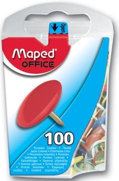 Maped punaises assortiment, doos van 100 stuks