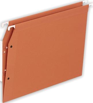 Pergamy hangmappen voor kasten ft A4, V bodem, oranje