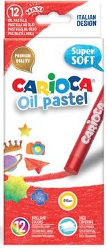 Carioca oliepastels, doos van 12 stuks in geassorteerde kleuren