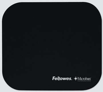 Fellowes Muismat Microban zwart