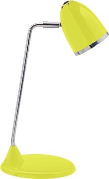 Maul bureaulamp MAULstarlet, spaarlamp, geel