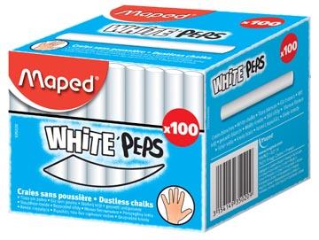 Maped krijt wit
