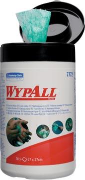 Wypall vochtige reinigingsdoeken, 1-laags, 50 vellen