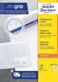 Avery Zweckform 3657-2, Universele etiketten, Ultragrip, wit, 200 vel, 40 per vel, ft 48,5 x 25,4 mm
